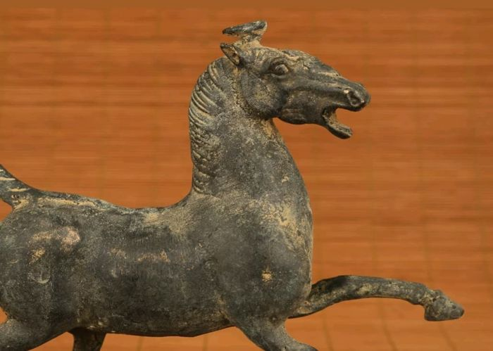 Statue of a horse - China - second half 20th century