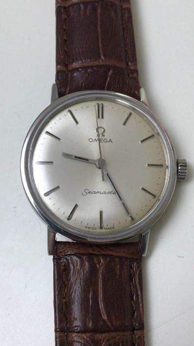Omega Seamaster -steel -cal 601 Manual winding