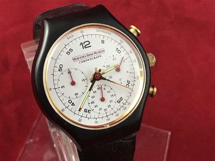 uhr mercedes benz museum chronograph 1993 1 objekte. Black Bedroom Furniture Sets. Home Design Ideas