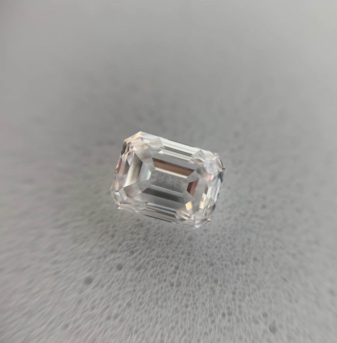 GIA 0.50 D IF Emerald geslepen diamant EX-VG None