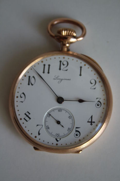 Longines - Men's pocket watch -1570509 - 1901–1949