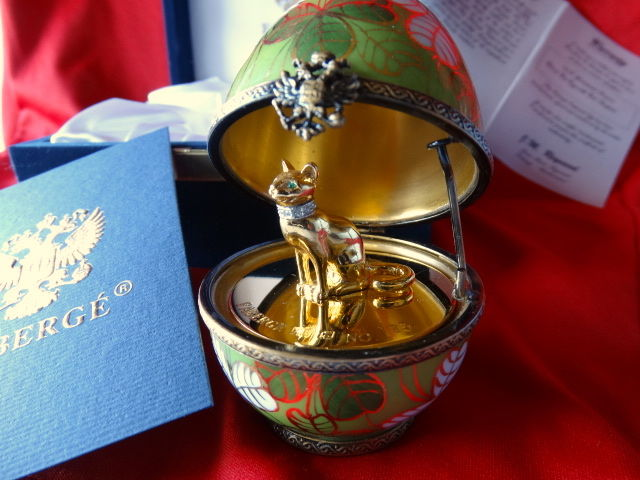 Imperial  - Faberge Imperial Egg Collection- numbered  - 24k or fini - 24k or fini