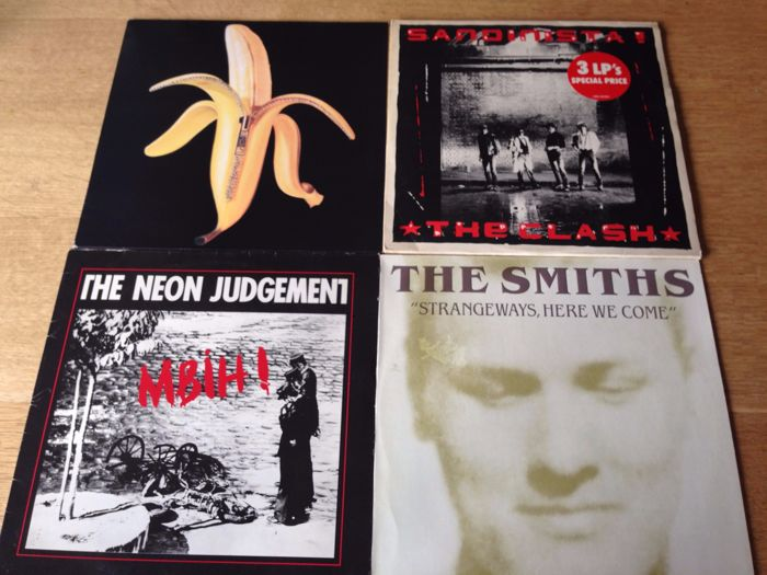 Lot of 4 Albums ( 6 Lp's ) - The Dandy Warhols / The Clash / The
