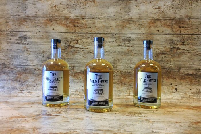 The Wild Geese Irish Whiskey Classic Blend - 70cl - 3 bottles