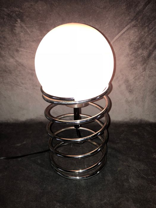 woja Chrome spiraal lamp - woja holland - Lamp