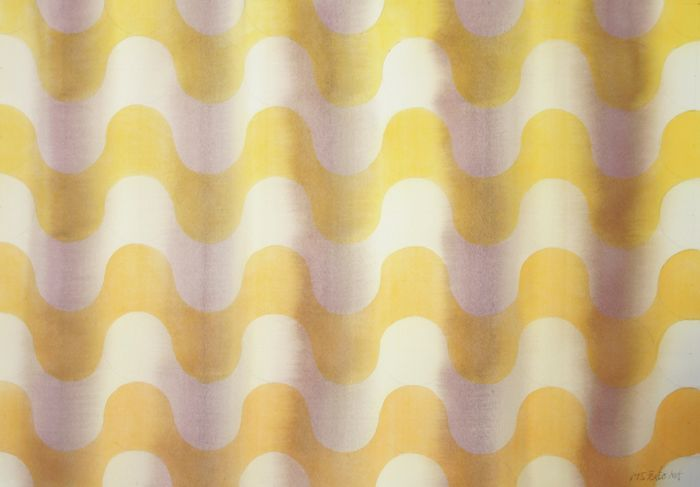 M J Forster - Waves (Yellow to orange)