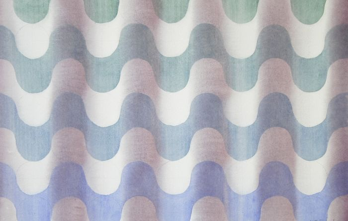 M J Forster - Ripples Blue to Green (2 Works)