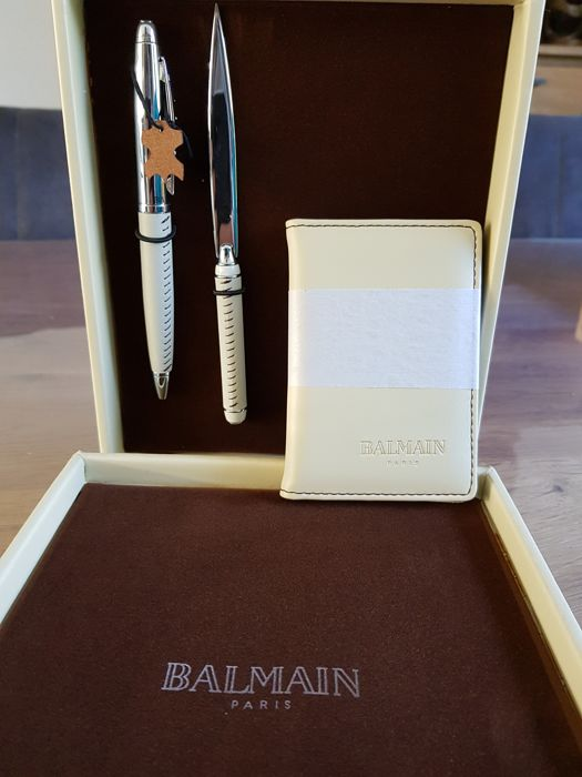 thoughts on new concept quality products Balmain Paris - Ballpoint pen - 120 - Catawiki