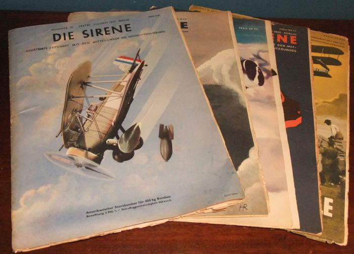 Germany - Airdefence - Magazine - 1935