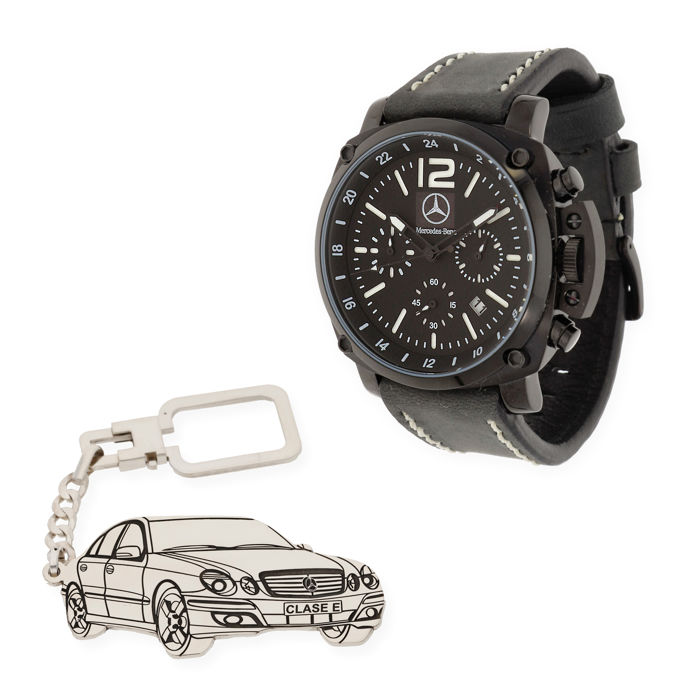 Watch and keyring - Mercedes-Benz E-Class - 2018-2018 (2 items)