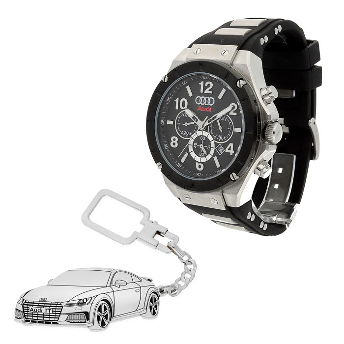 Watch and keyring - Audi TT - 2018-2018 (2 items)
