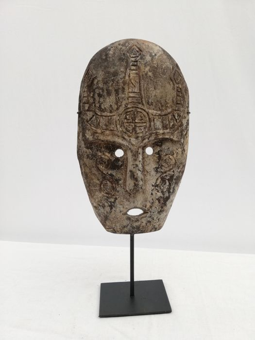 Wooden Tipis Mask - Africa
