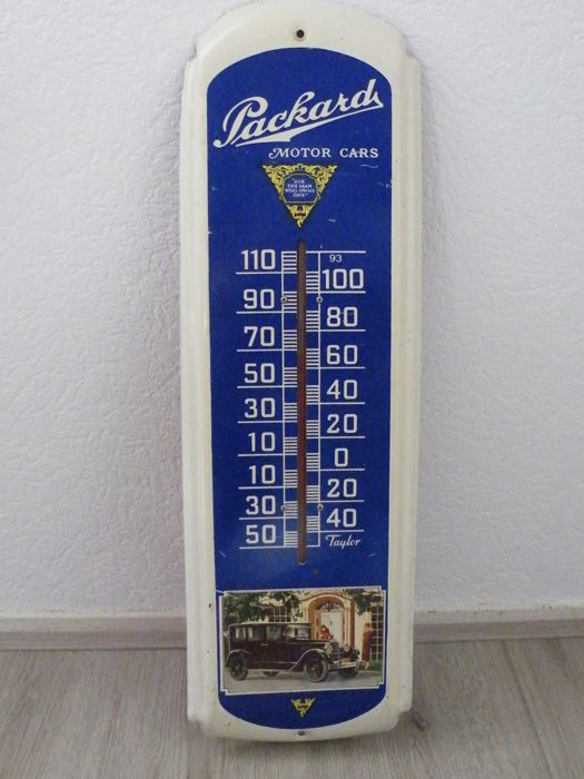 Thermometer - Packard - 1962