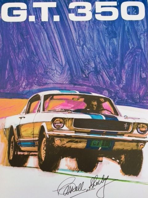Decoratief object - Ford Mustang GT 350 - 1968 - Carroll Shelby - 2018 (1 items)