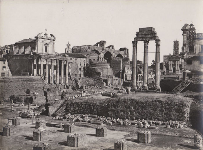 James Anderson   - Roma, lot of 5 views. ca 1900