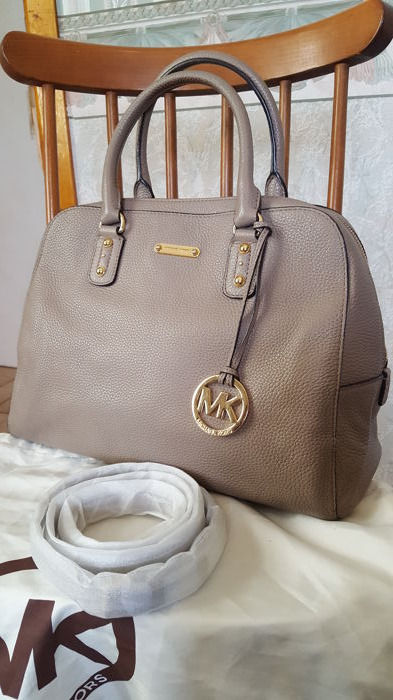 Michael Kors Large Cindly Dome Leather Satchel Bag Catawiki