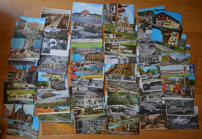 Postcards - German cars - 1930-1980 (188 items)