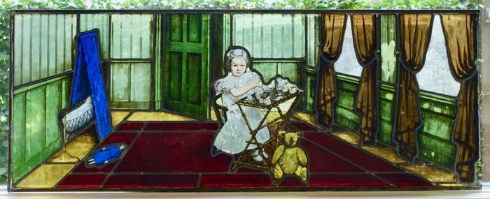 N.V. J. Broere & Zn's in Rotterdam Panel - Stained glass