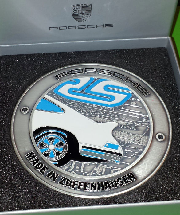 Decorative object - Porsche Car Grille Badge - 911 2.7 Carrera RS - 2000 (1 item)