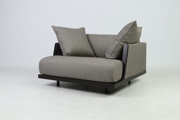 Grote Lounge Fauteuil.Antonello Mosca Giorgetti Exclusieve Grote Lounge Fauteuil Catawiki