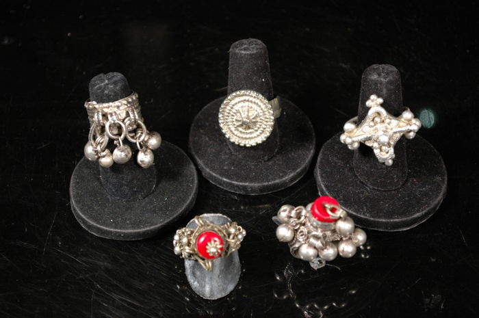 5 ethnic rings - Ottoman Empire, Yemen and Africa