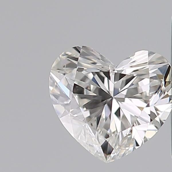 Heart Brilliant 0.35ct H SI2 with GIA - #3060