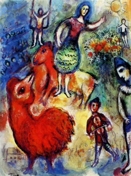 Marc Chagall - Circus - Limited Edition 333 exemplares