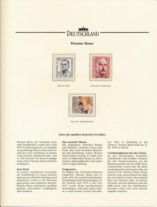 Thematic Collection Germany Gdr 19651994 In 4 Thick Albums On