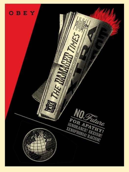 Shepard Fairey (OBEY) - Damaged Times