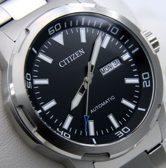 "Citizen - Mechanical - Automatic ""Black Dial""  - Heren - 2011-heden"