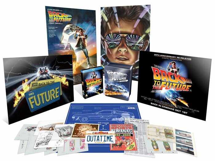 the Future - Blu-Ray, Collectors edition Back to the Future Trilogy