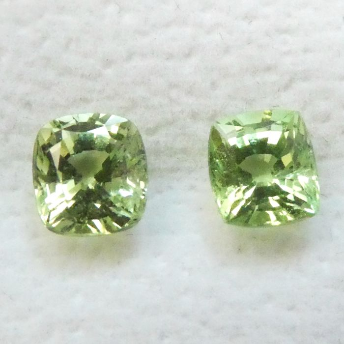 Tsavorite Pair – 2.26 ct total