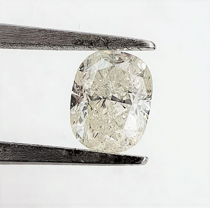 Diamond - 1.51 ct - Cushion - H - SI2