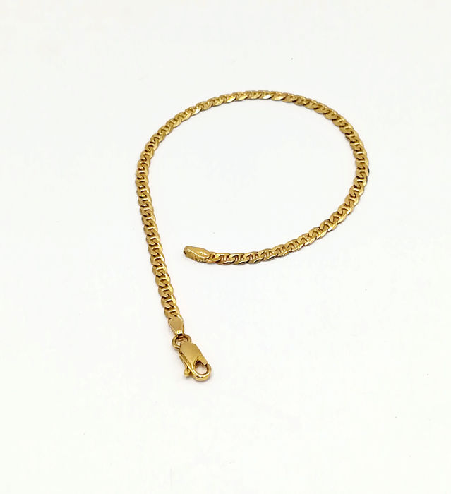 Bracelet in 18 kt Yellow Gold Length 50.00 cm Total Weight 4.96 g