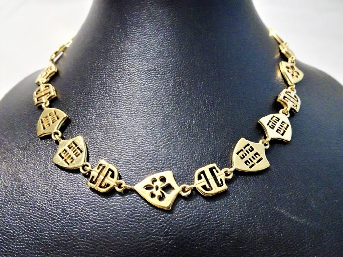 Givenchy - Unusual LOGO Link Collier
