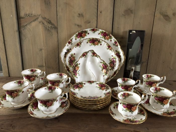 Royal Albert - service parts  Old Country Roses  - 20 - Porcelain ... 7e9d311bc6