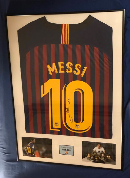 premium selection b6cdd ca67a FC Barcelona - Spanish Football League - Lionel Messi - 2018 - Jersey -  Catawiki