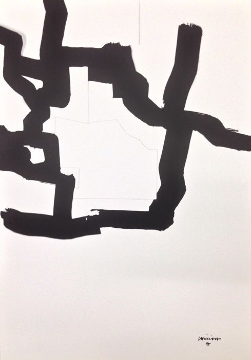 Eduardo Chillida (after) - Collage