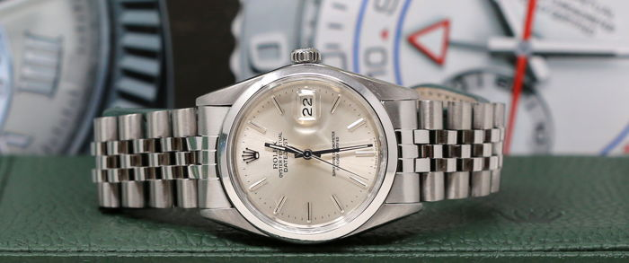 Rolex -  Oyster Perpetual Datejust  - 16000 - Men - 1980-1989