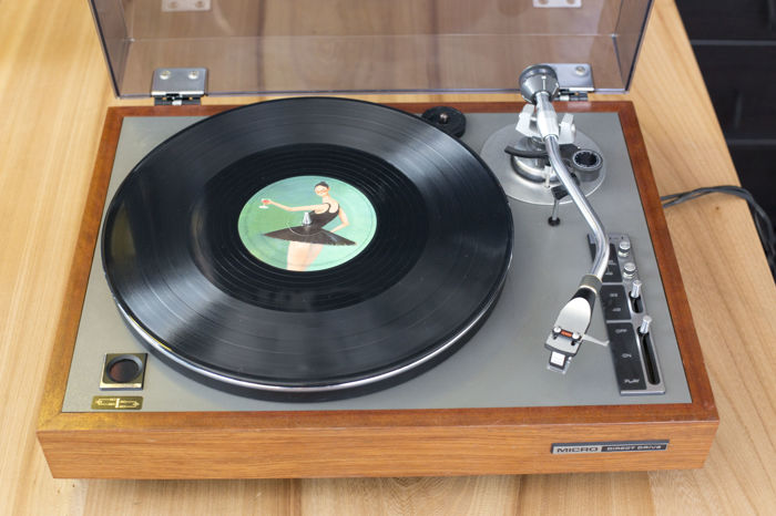Wonderful vintage Micro (Seiki) record player in very good