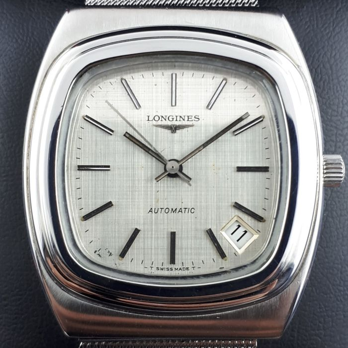Longines - Square Automatic With Date  - Ref. 4825-4 - Férfi - 1970-1979