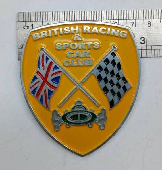 Embléma/ Kabala - British Racing & Sports Car Club Badge - 2012-2012