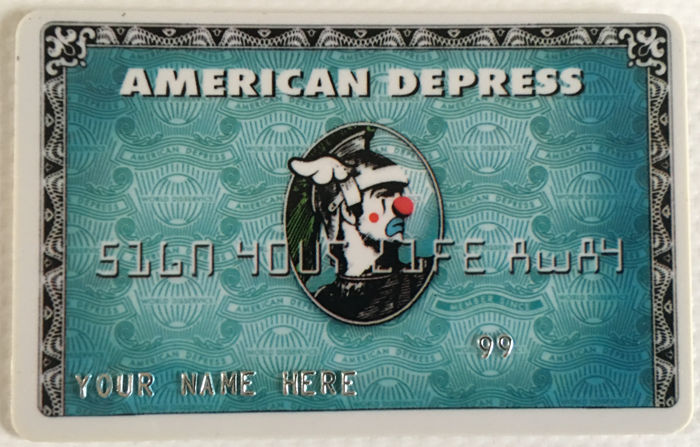 D*Face - American Depress Card