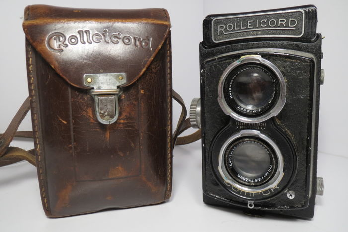 """Rolleicord-Ia"" Model 3 - 'Police' Model K3 - 541 Only 500 pieces produced ""Franke & Heidecke"" (1939)."
