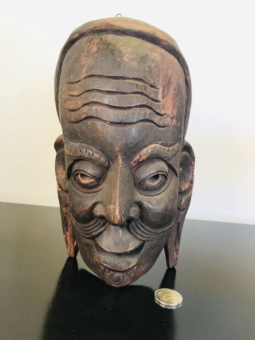 Wooden mask - West African