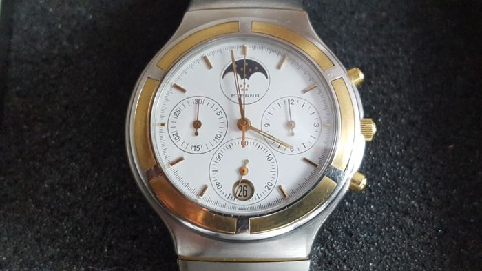 "Eterna - Airforce Chronograph Moonphase "" NO RESERVE PRICE"" - Men - 1990-1999"