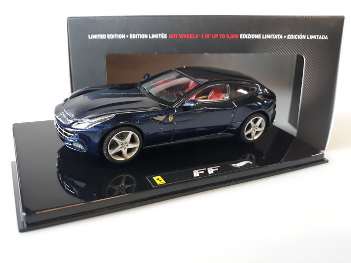 Hot Wheels Elite - 1:43 - Ferrari FF - Limited Edition or 5,000 pcs.