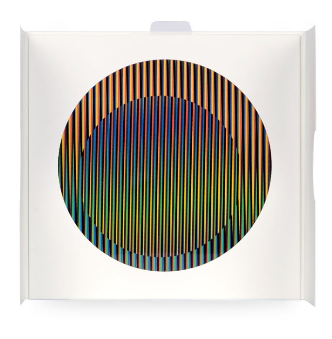 Carlos Cruz-Diez - Chromointerference Manipulable Circulaire