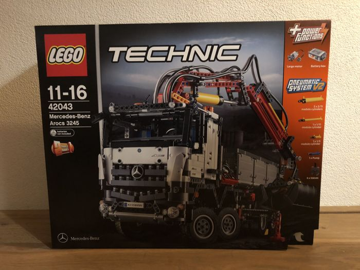 42043 3245 Lego Lorry Mercedes Arocs Technic Benz Catawiki TlK1cFJ3