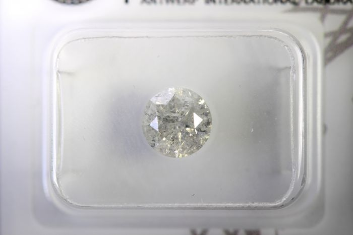 AIG Antwerp Diamond - 1.06 ct - Colour: H, Clarity: I3